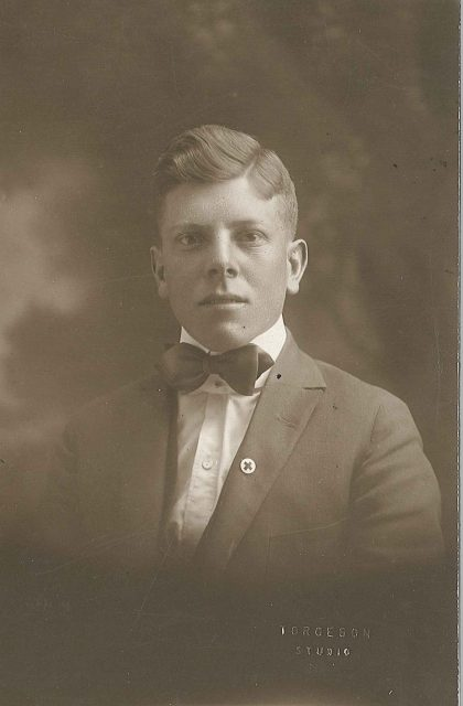 Leon-sinfield-richman-before-marriage-&-service-1916-17-original-sepia-