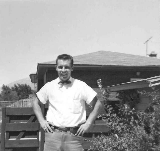 Lynn at his home in Brigham City