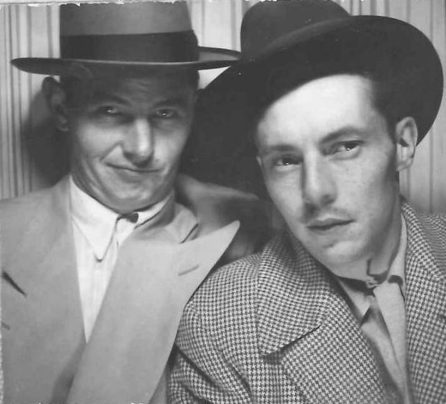 Lynn Richman and Dale Harding in 1948