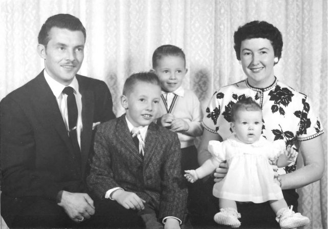 Lynn, Jeff, Larry, Joy, Joyce, 1959