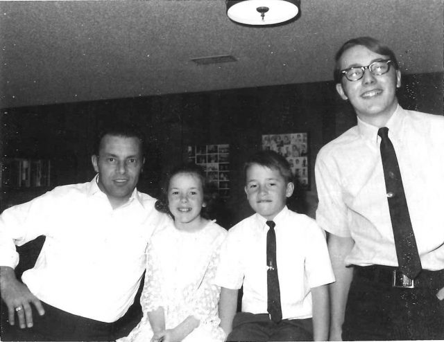 Lynn, Joy, Rick, Jeff, March 1969