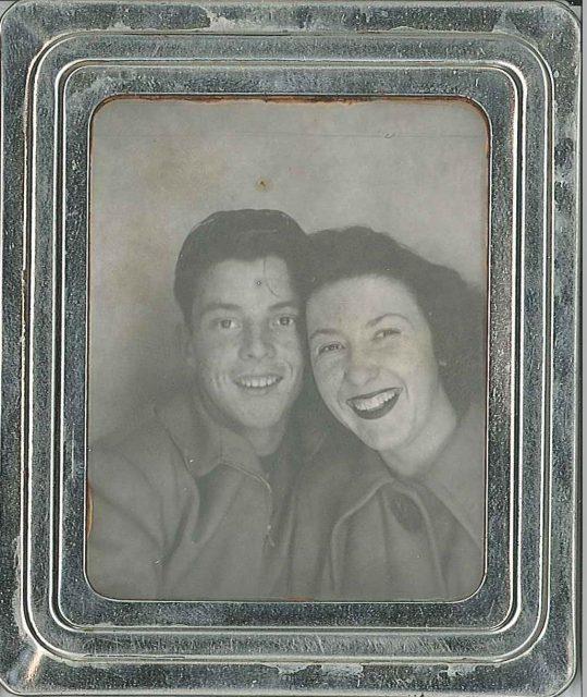 Lynn & Joyce about 1948
