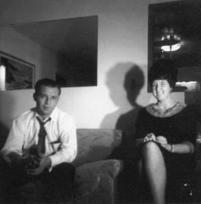 Lynn and Joyce at Reta's and Paul's house