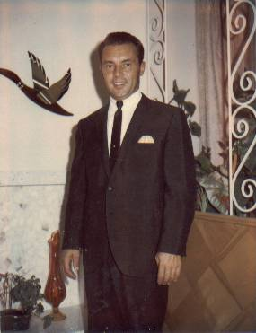 Lynn Richman at his home in Salt Lake City on the day of Joy Lynn Richman's baptism.