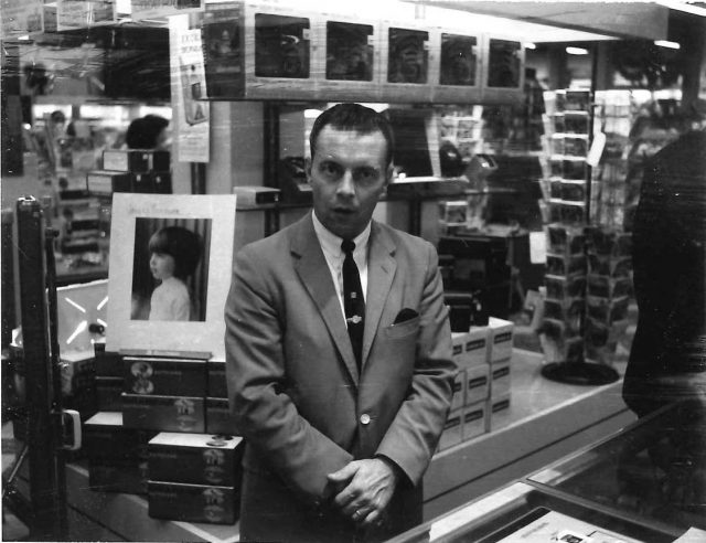 Lynn Richman, salesman for S&H Green Stamps. Lynn began working for S&H on December 1, 1961. Became Zone Manager April 15, 1963.