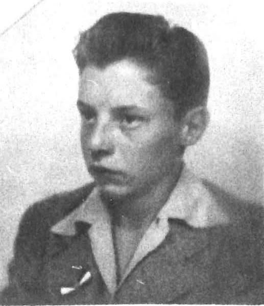 Lynn Richman, age 16, 1944
