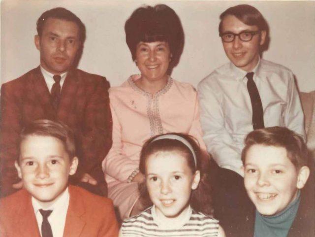 Lynn & Family March 30 1969