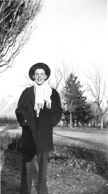Lynn Richman in 1946