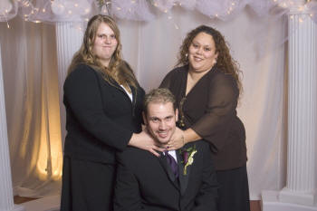 Robert and his sisters
