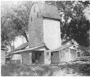 Franklin Neff flour mill in Winter Quarters.