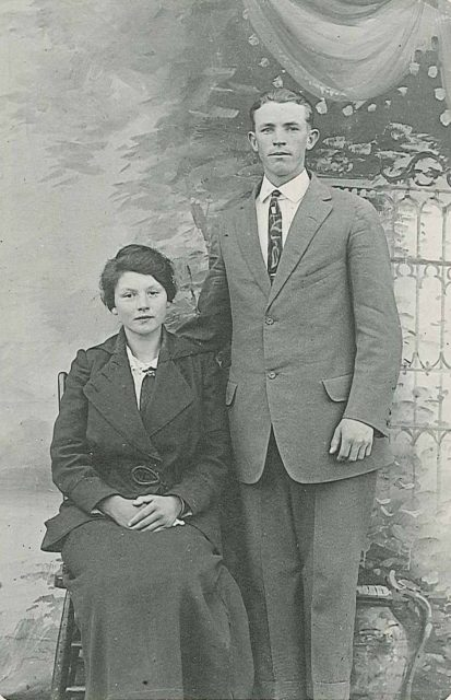 Annie Marie Thomas & Edward Obray Norman