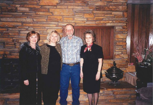 Pattie, Sharon, Junior, and Mary Smith
