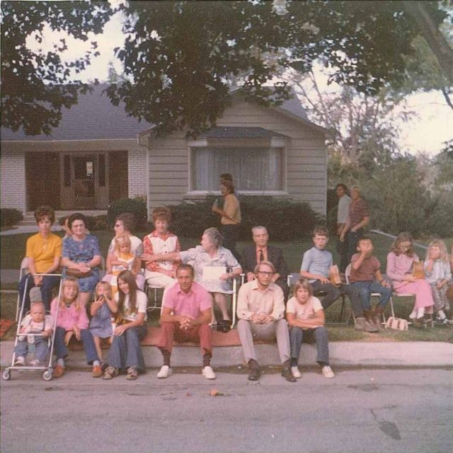 Peach Days parade in Brigham City, August 1974
