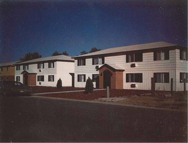 In 1971, Lynn purchased two rental fourplexes in Meridian, Idaho.