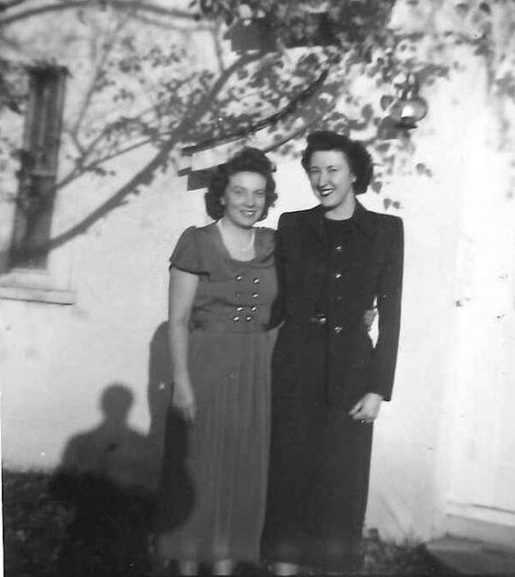 Reta and Joyce