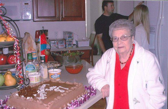 Reta's 87th birthday in 2007