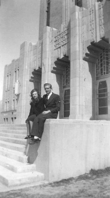 Reta and Paul wedding, July 1940