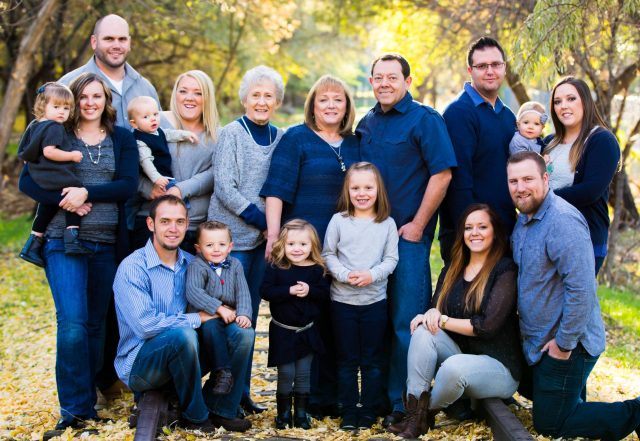 Children and grandchildren of Larry Leon Richman & Teri Lee Jackman, October 2013