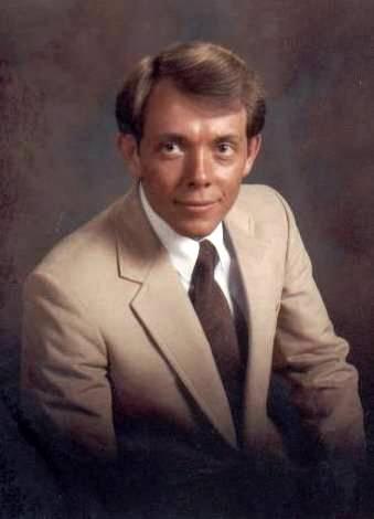 Larry Richman, engagement photo, 1982