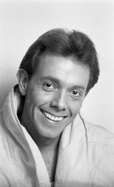 Larry Richman, acting head shot, 1987