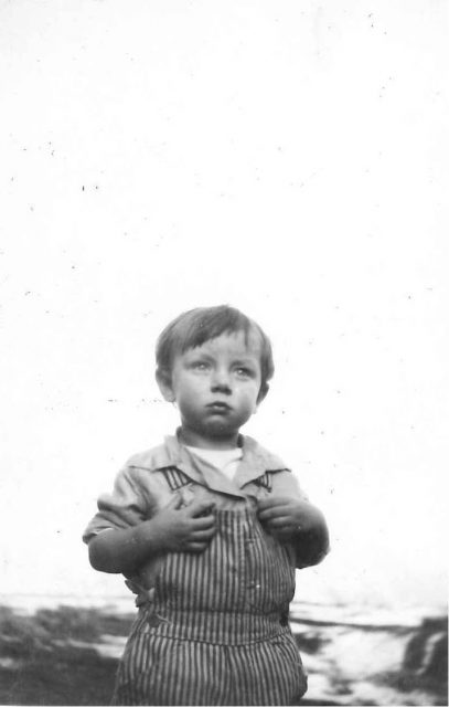 George Reese Richman, child of George Sinfield Richman & Estella Thomas