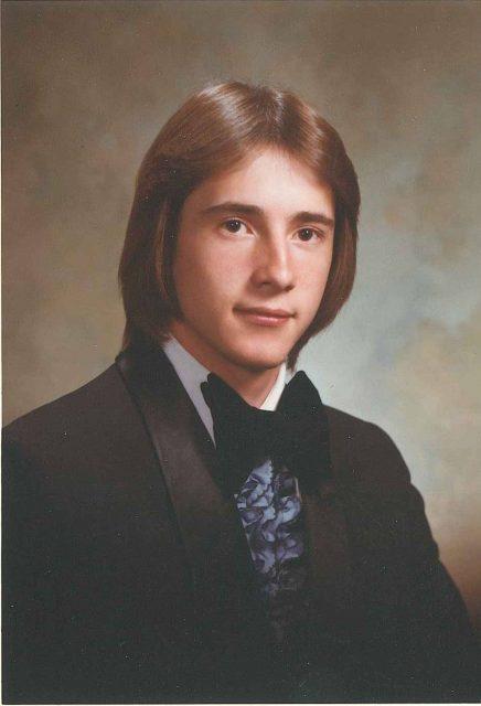 Rick, senior year