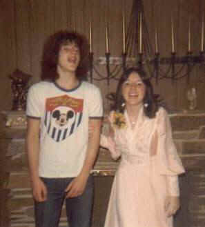 Rick and Joy, April 28, 1976