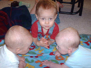 Riley, Weston, Rhys, January 18, 2007
