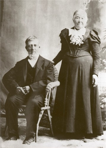 Samuel Sinfield and Hannah Middleton