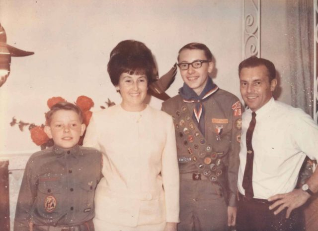 Scouts: Larry, Joyce, Jeff, and Lynn Richman