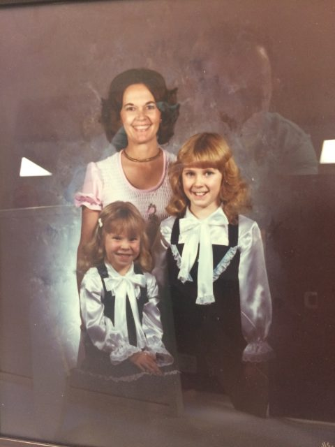 Karen Seely Galloway and daughters Wendy and Brandi