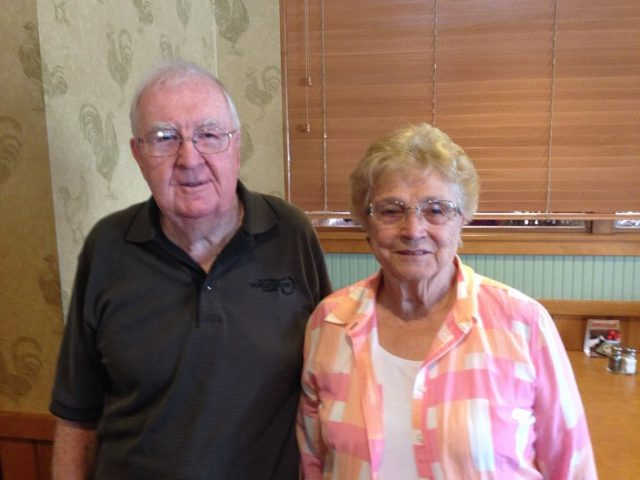 Glen & Nita Seely at Kent's 70th birthday dinner June 2014
