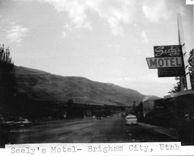 Seely's Motel in Brigham City, Utah