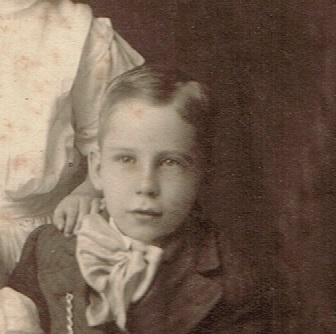 Winfield Kenneth Smith as a boy