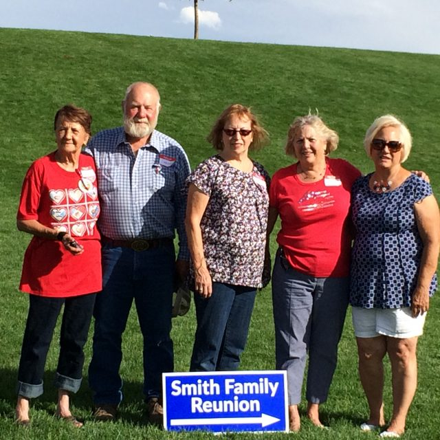 Smith Family Reunion, July 2016
