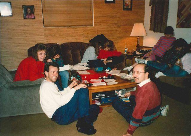 Teri, Larry, Jeff in Boise