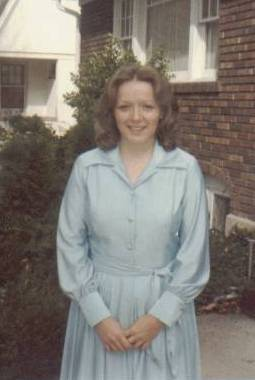 The day Teri entered the mission home, April 8, 1978
