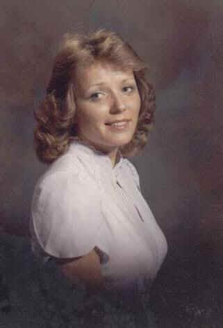 Teri engagement portrait 1982