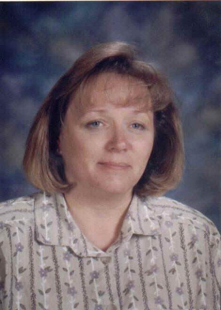 Teri work photo, Hillsdale Elementary, 2000