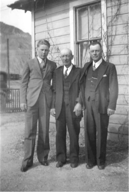 Clark (Joe's son), John Edward Thomas, Joe (John Edward's son)