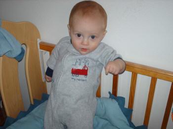Weston, 7 months, December 2005