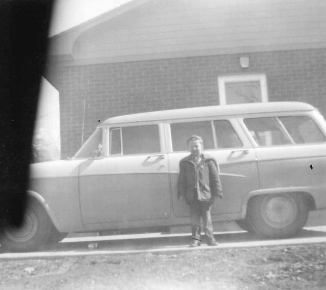 1956 Ford Wagon (picture taken March 1958)