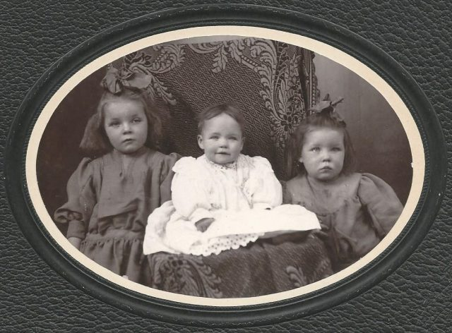 Mildred Matilda Samuelson, Carrie Samuelson, Mary Frieda Samuelson