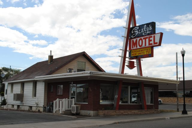 Seely's Motel at 740 S Main St. in Brigham City, Utah (photo taken June 14, 2014).