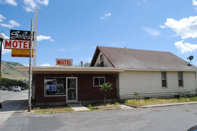 Seely's Motel in Brigham City, Utah (photo taken June 14, 2014)